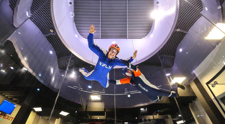 Plus Indoor Skydiving - 4 Flights - Weekend - Gold Coast