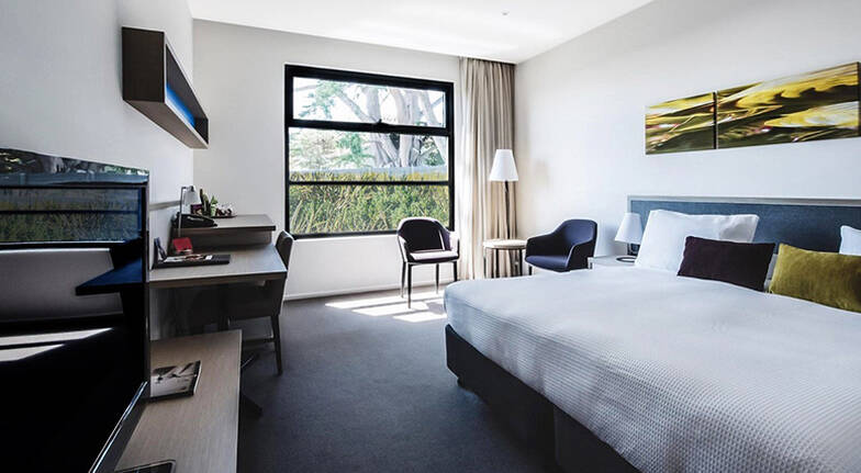 Overnight Getaway with Breakfast and Golf  For 2