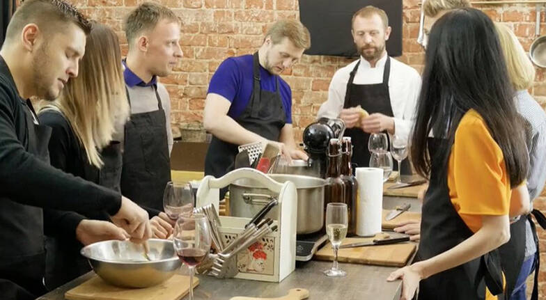 Build Your Own Team Building Cooking Class - For 10