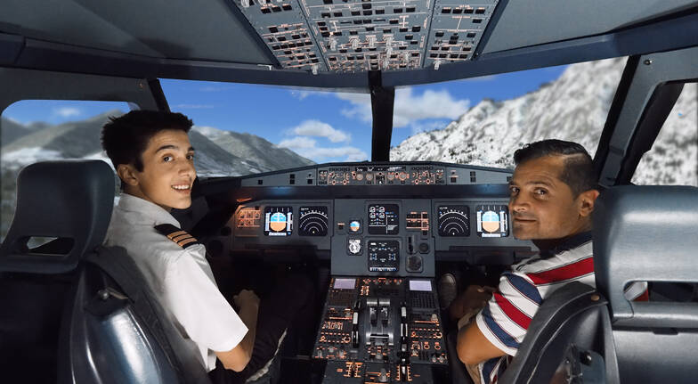Airbus A320 Flight Simulator Experience - 1 Hour
