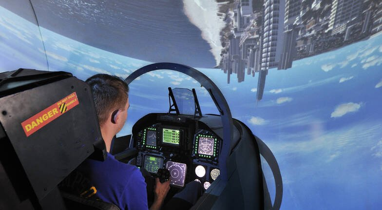 60 Minute F18 Super Hornet Simulator Experience