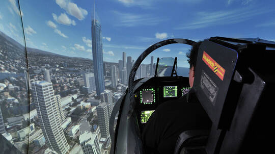 60 Minute F-18 Super Hornet Simulator Experience