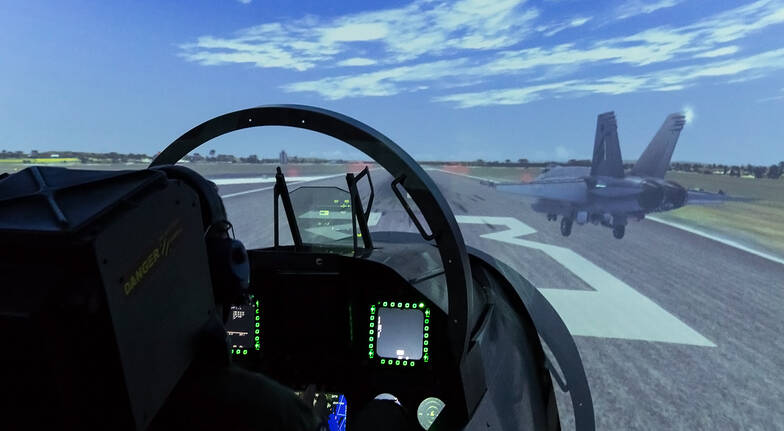F-18 Super Hornet Simulator Experience - 30 Minutes - For 2