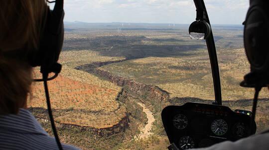 Porcupine Gorge Helicopter Flight - Hughenden - 50 Minutes