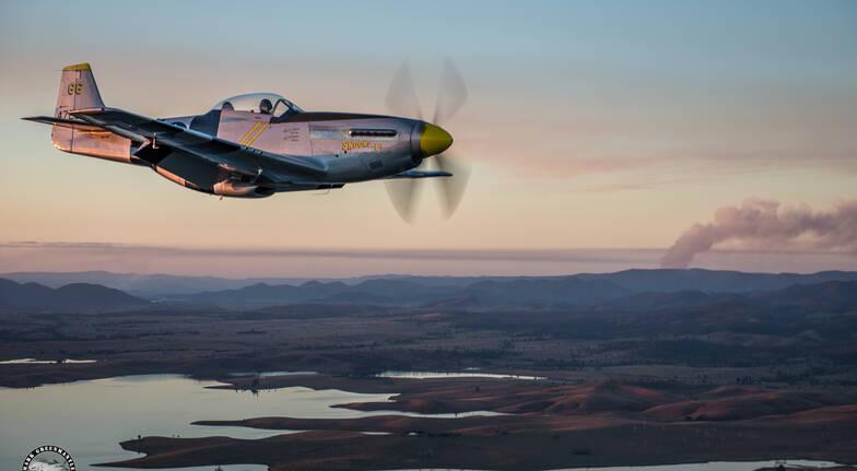 P-51D Mustang Air Combat Mission