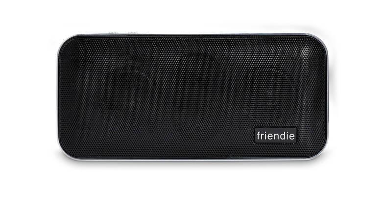 Friendie Air Live Wireless Speaker and Powerbank - Black