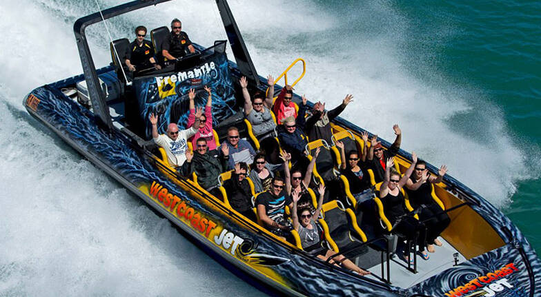 Fremantle Ocean Jet Boat Thrill Ride  20 Minutes