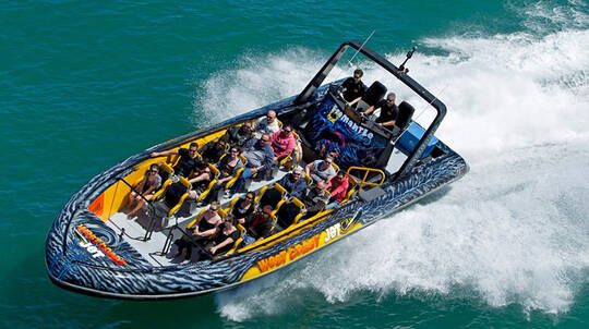 Fremantle Ocean Jet Boat Thrill Ride - 20 Minutes