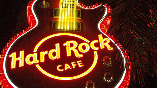 Rockstar Dinner at Hard Rock Cafe Gold Coast - For 2