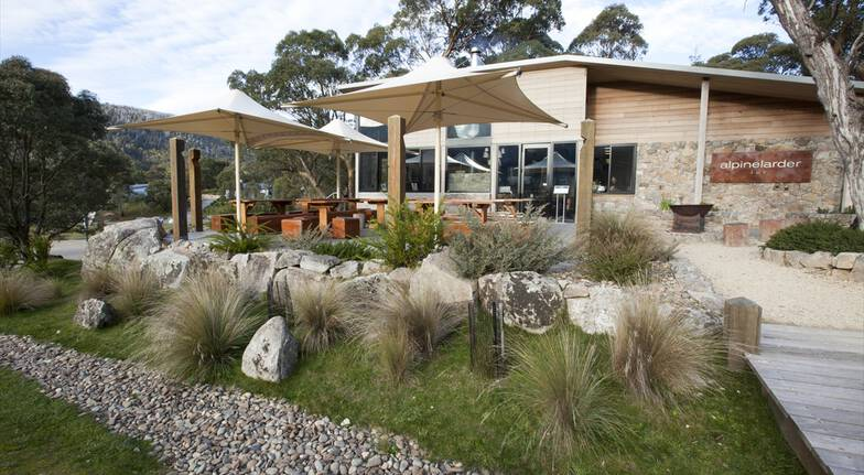 2 Course Dinner with Wine in the Snowy Mountains - For 2