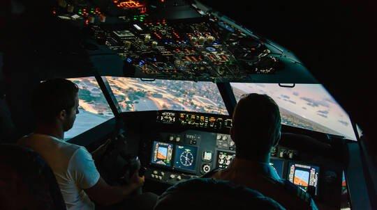 Jet Flight Simulator Challenge - 60 Minutes