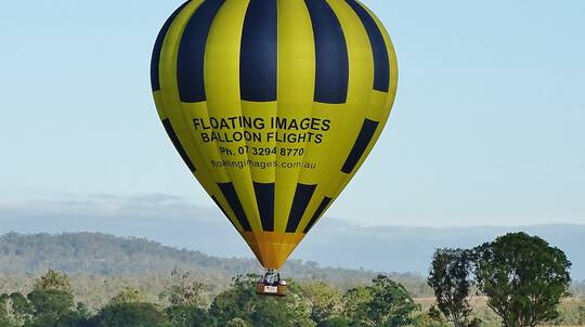 Hot Air Balloon Over Greater Brisbane with Breakfast - For 2