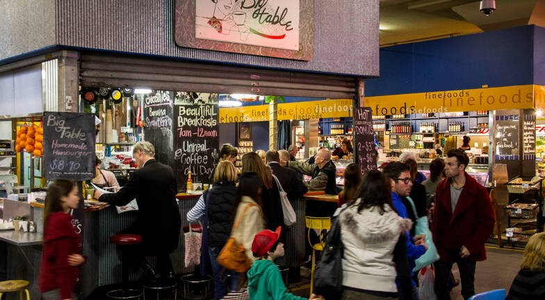 Central Market Tours central market adelaide stalls and people