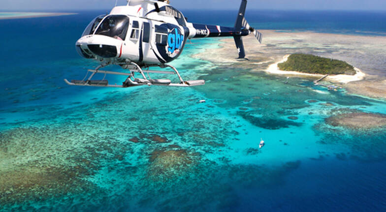 Scenic Helicopter Flight Over Great Barrier Reef - 30 mins