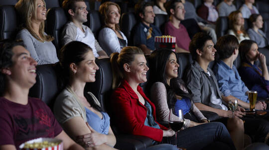 Cinema Experience with a Drink and Popcorn - For 2