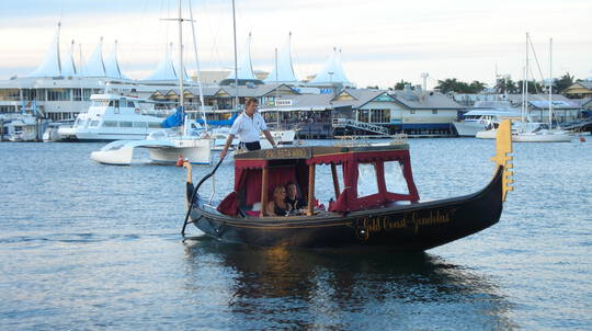 Romantic Gondola Dinner Cruise with Sparkling - For 2