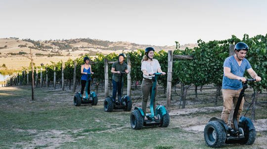 Segway Winery Tour with Tasting and Lunch - For 2