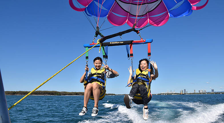 Scenic Parasail Over the Gold Coast  8 Minutes