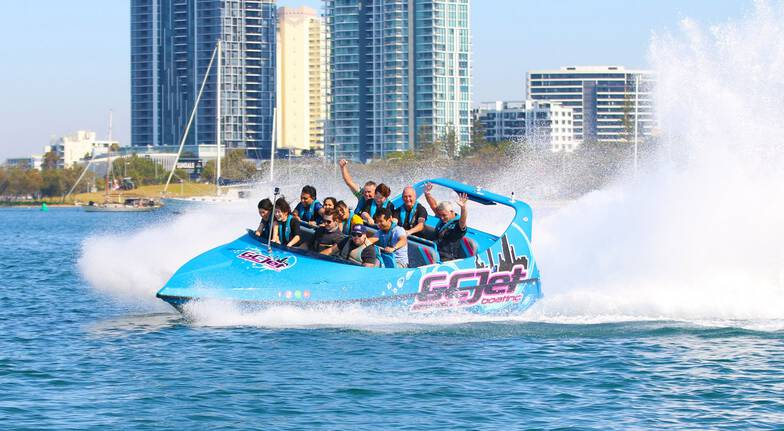 Gold Coast V8 Jet Boat and 30 Minute Jetski Safari - For 2