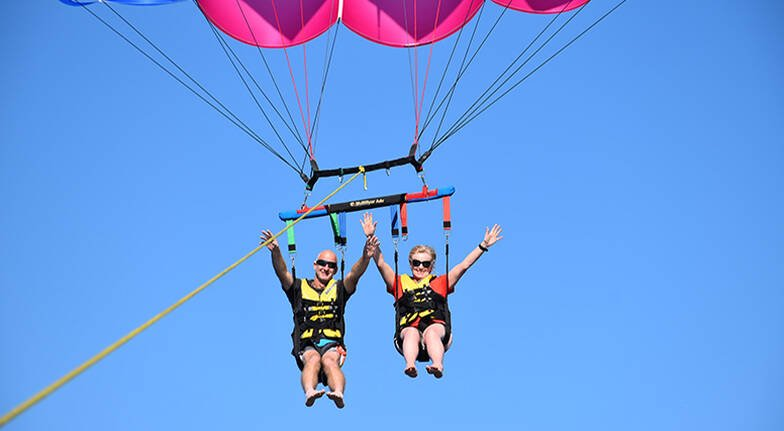 Gold Coast Tandem Parasail and 30 Minute Jetski - For 2