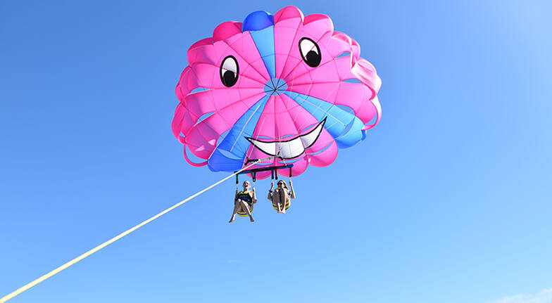Gold Coast Parasail and 1 Hour Jet Ski Safari Combo - For 2