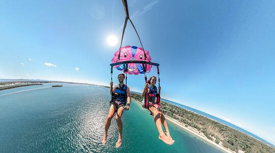 Scenic Parasail Over the Gold Coast - For 2