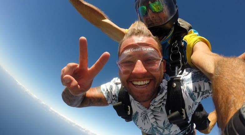 Gold Coast Tandem Beach Skydive