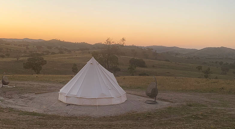 Midweek Luxury Glamping Stay in Mudgee  3 Nights