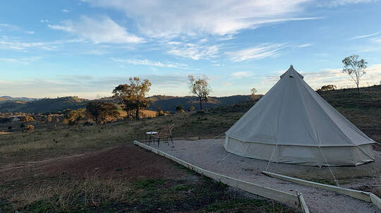 Midweek Luxury Glamping Stay in Mudgee - 2 Nights - For 2