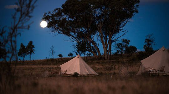 Weekend Luxury Glamping Stay in Mudgee - 3 Nights - For 8