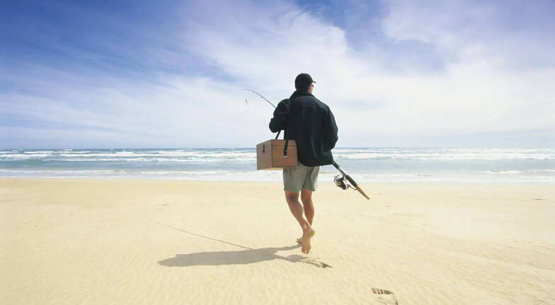 Gold Coast Private Beach Fishing - 2 Hours