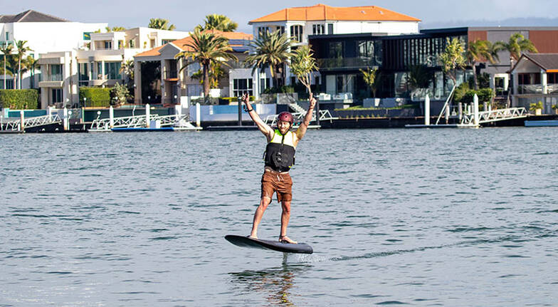 Gold Coast Fliteboard Guided Tour or Lesson - 2 Hours