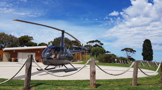 Bellarine Peninsula Helicopter Winery Tour with Lunch- For 2