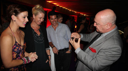 Private Magic Show with Champagne and Canapés - For up to 30