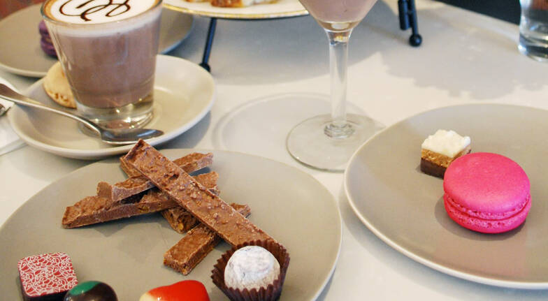 Chocolate High Tea with Tour and Dessert Cocktail