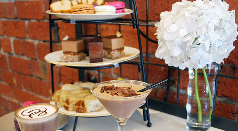 Chocolate High Tea with Coffee and Cocktail  For 2