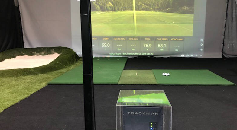 Golf Simulator Lesson and Practice Session  60 Minutes