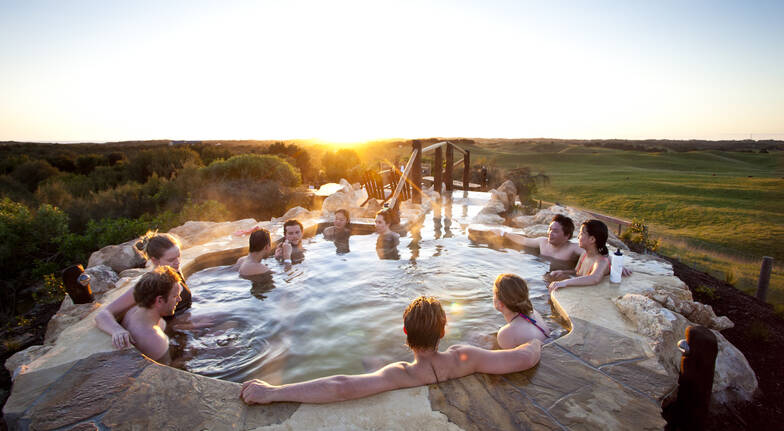 Farmers Lunch and Natural Hot Spring Bath - For 2