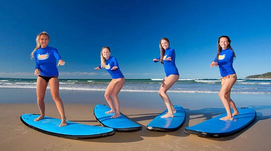 Torquay Group Surfing Lesson - 2 Hours