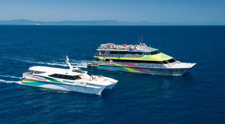 Green Island and Great Barrier Reef Cruise Adventure