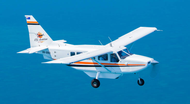 Great Barrier Reef Hopper Fixed Wing Flight - 40 Minutes