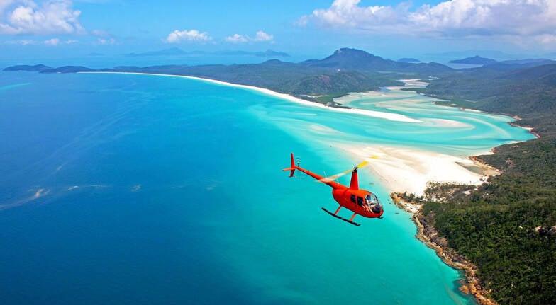 Whitsundays Scenic Helicopter Flight  60 Minutes