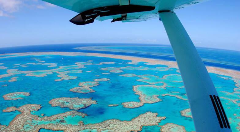 Whitsundays Scenic Flight and Jet Ski Combo Tour