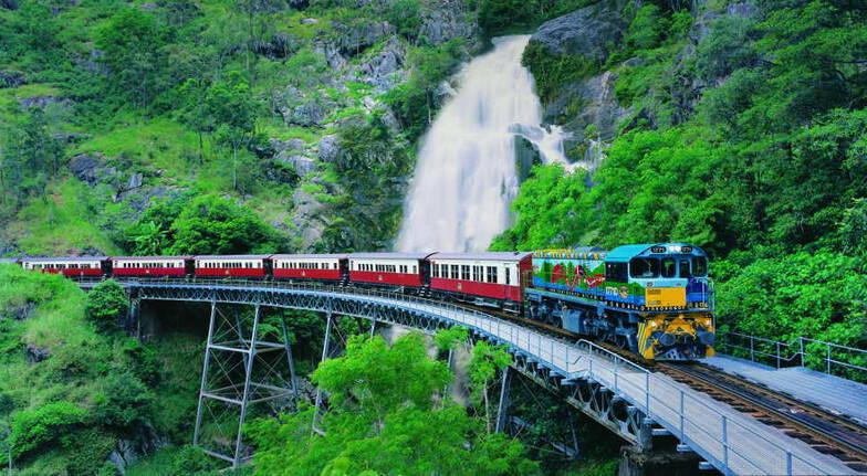 Kuranda Train and Skyrail plus Hartley's Crocodile Zoo Entry