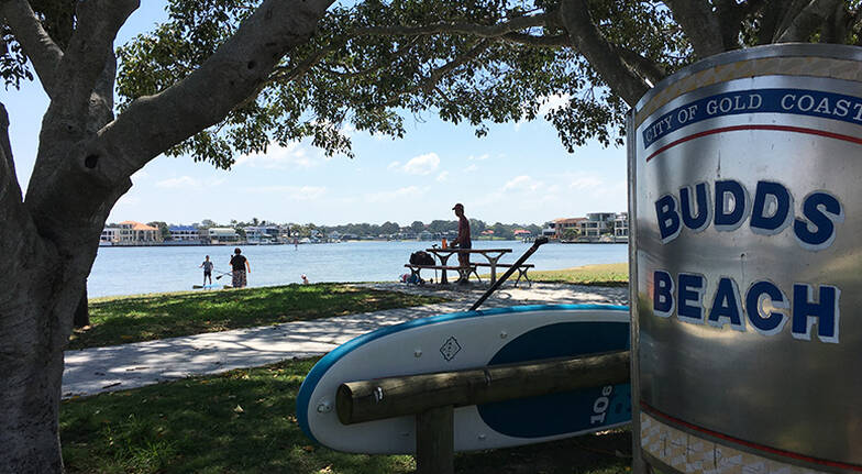 Stand Up Paddle Lesson at Budds Beach - 60 Minutes