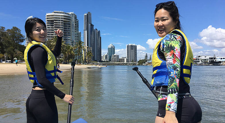 Surfers Paradise Stand Up Paddle Board Tour  2 Hours