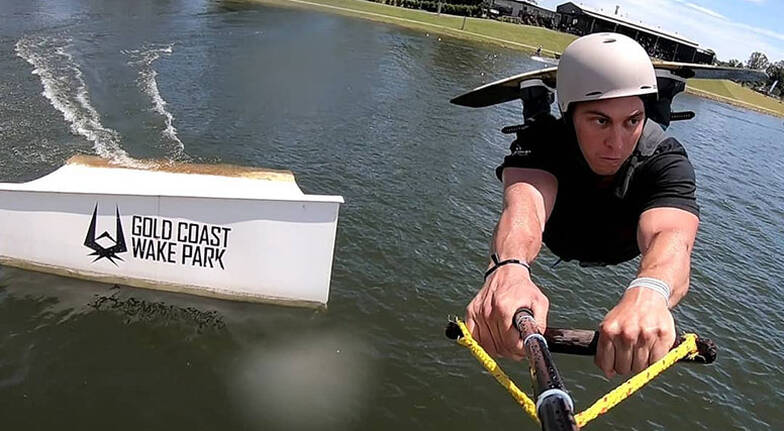 Gold Coast Wake Park Entry  1 Hour