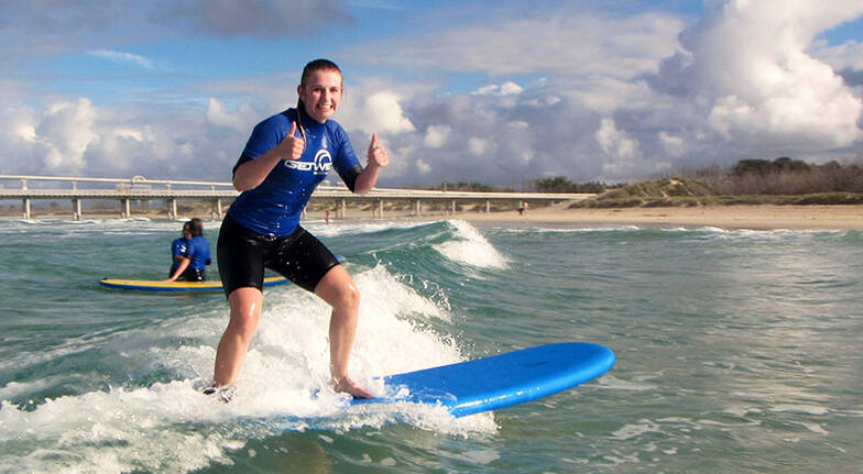 Private Surfing Lesson with Transfers  2 Hours
