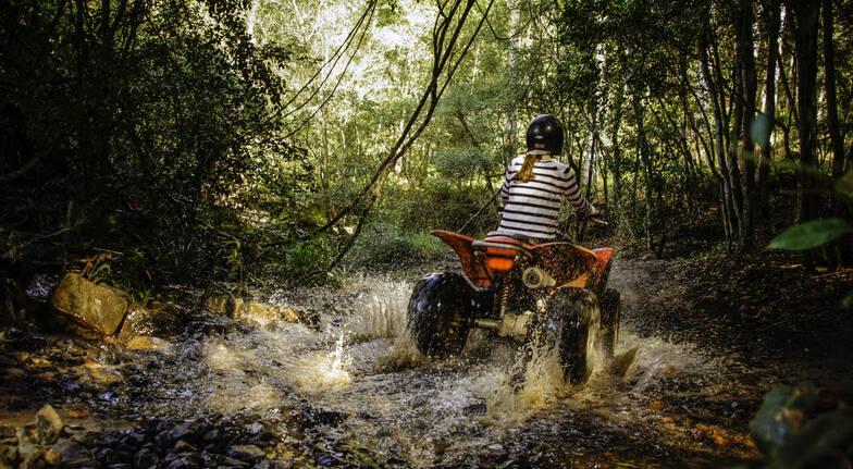 Abseil and Quad Bike Adventure