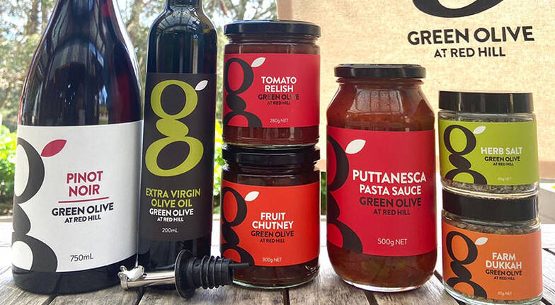 Green Olive Farmer's Favourites Hamper